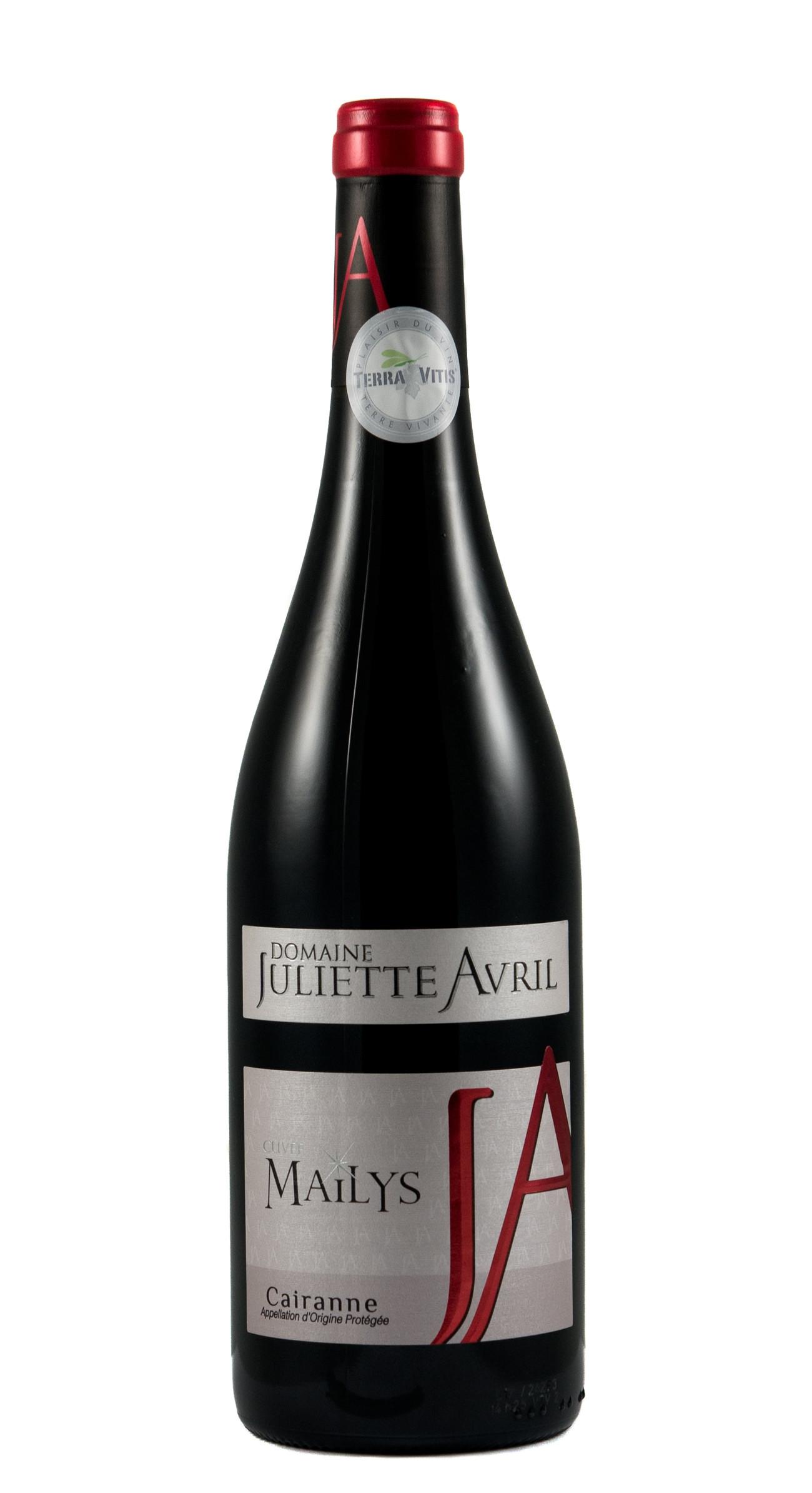 Avril Côtes du Rhône Villages Cairanne, Cuvée Mailys, rouge