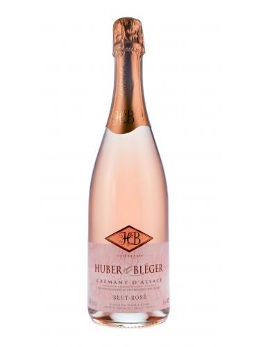 Crémant D'Alsace, Brut Rosé, H&B