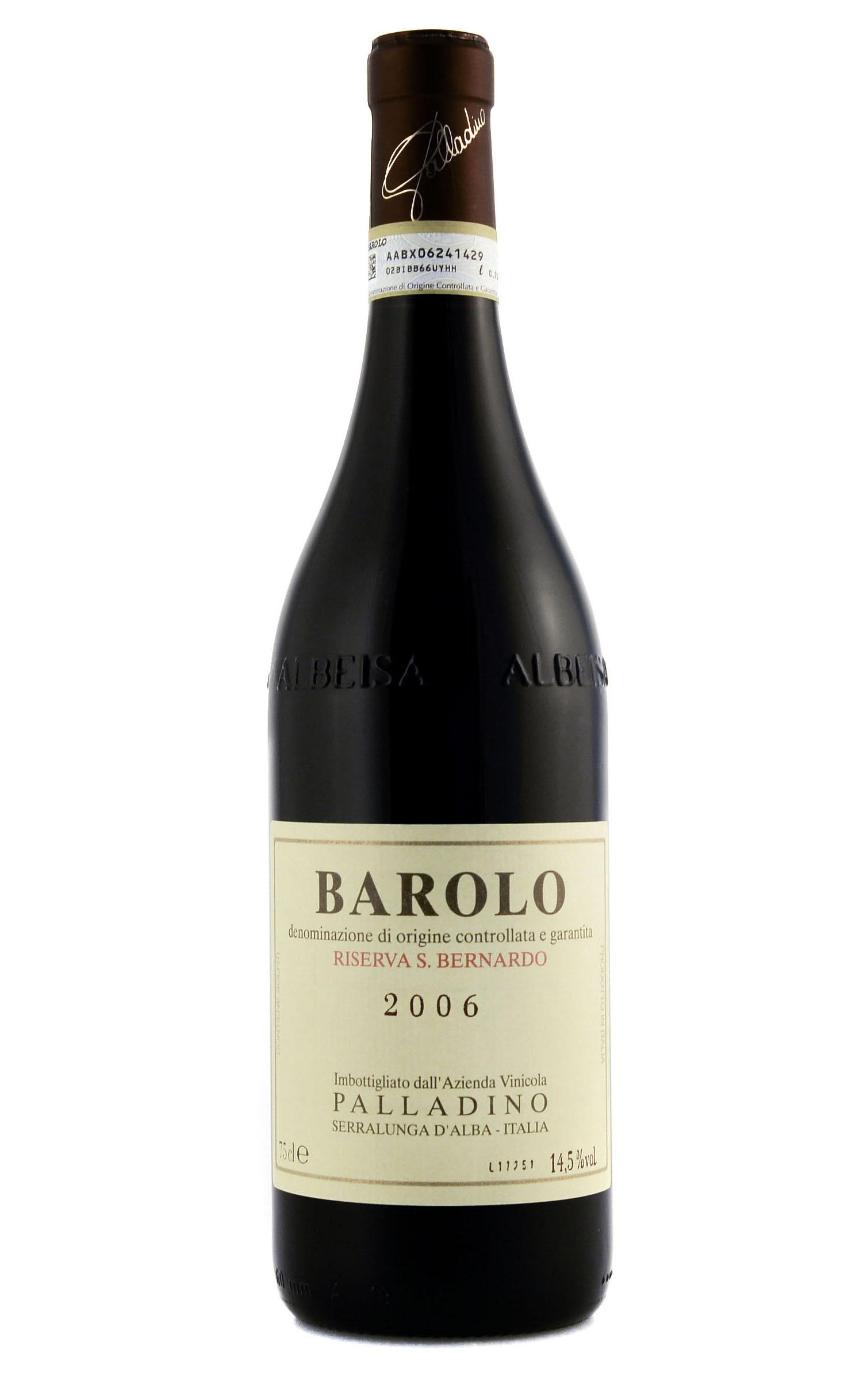 BAROLO DOCG Riserva San Bernado, Palladino